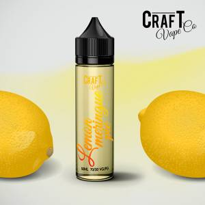 Lemon Meringue Pie Dessert E-Juice - Craft Vape Co.